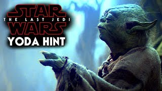 Star Wars The Last Jedi Yoda Hint Revealed & More! 2017 Video