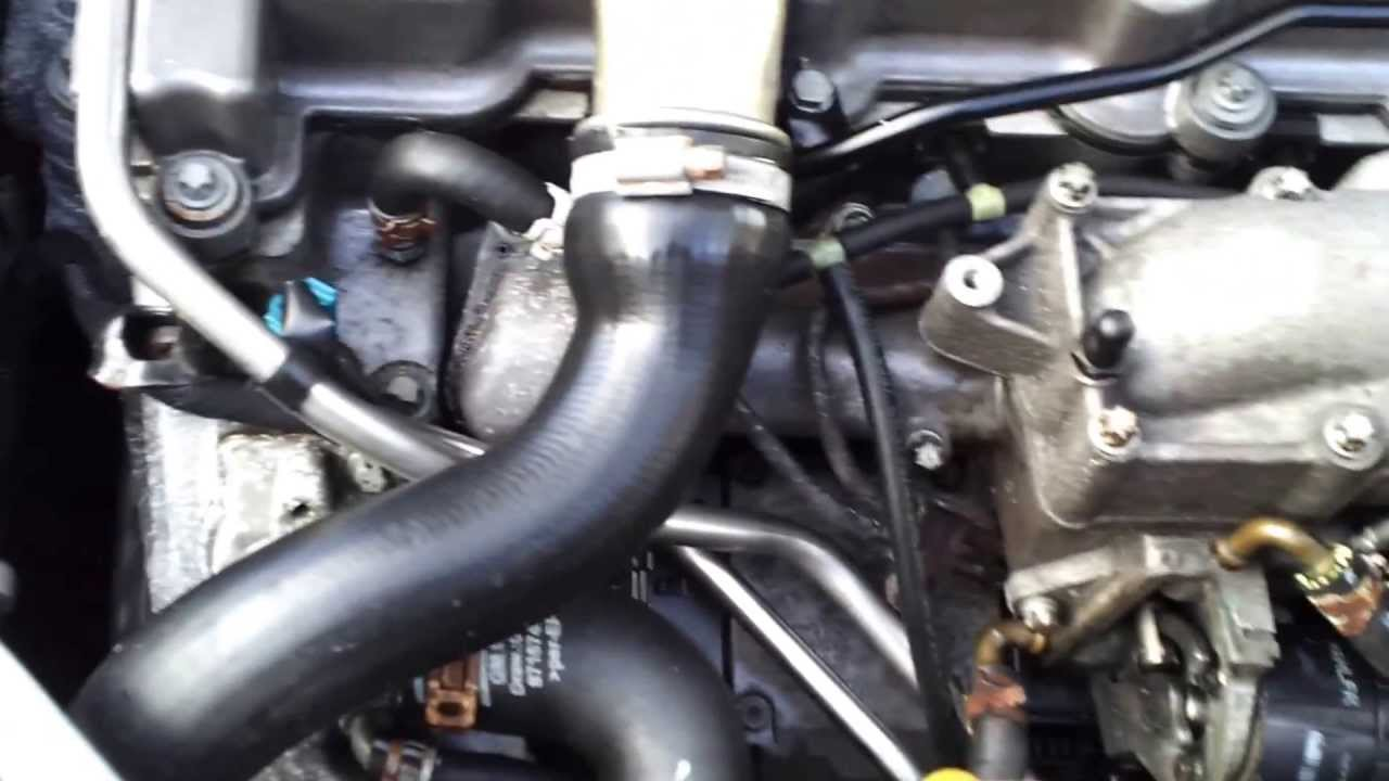 Saab 93 Egr Valve Cleaning 9 3 2 2 Tid 2003 Youtube