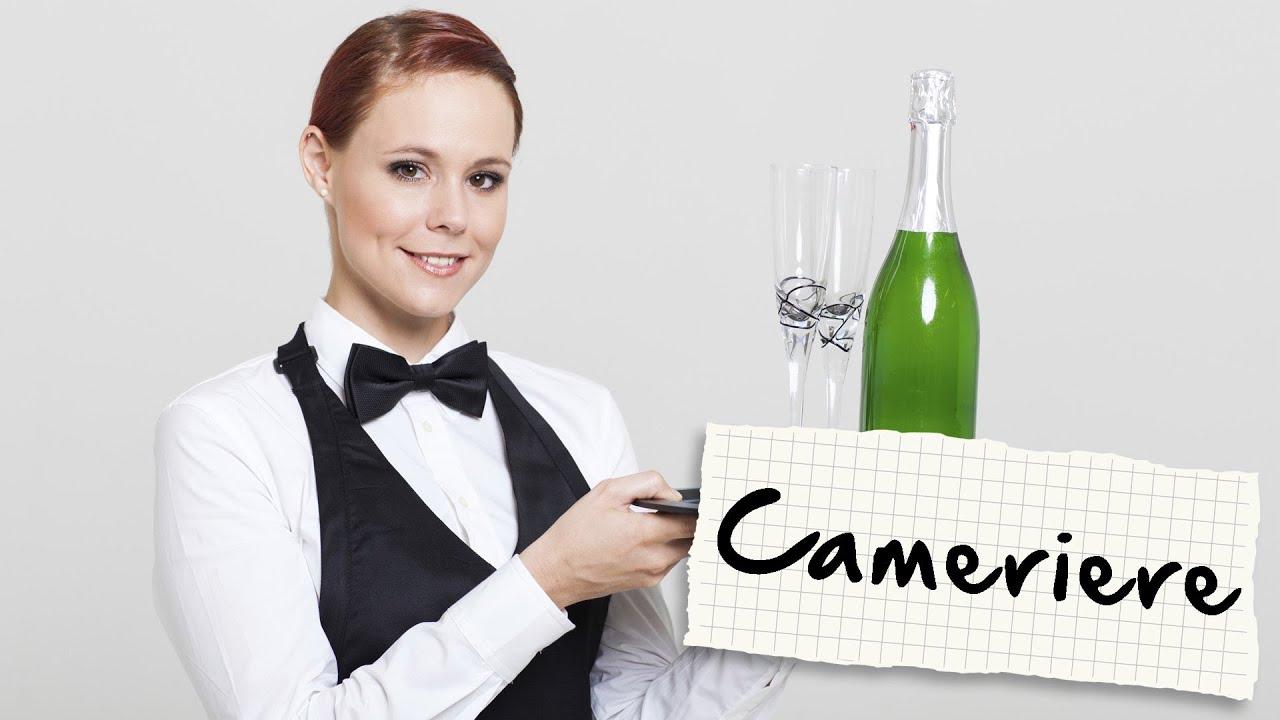 Cameriere Chi ¨ E Cosa Fa [Orientamento Professionale]