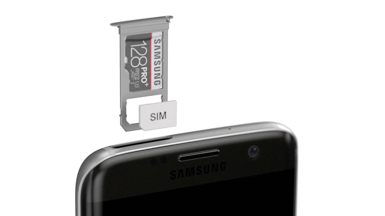 Samsung Galaxy S7 Sd Karte Größe.Große Speichererweiterung Das Neue Samsung Galaxy S7 Edge S7 Mit Microsd Slot