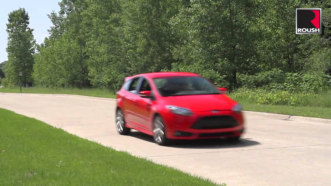 roush ford focus st high performance cat back exhaust youtube. Black Bedroom Furniture Sets. Home Design Ideas