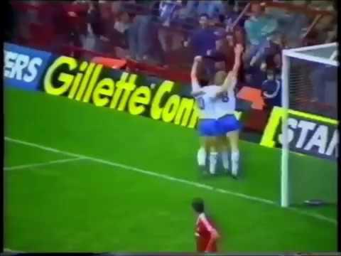 West Ham Goals V Man United Away, 1986