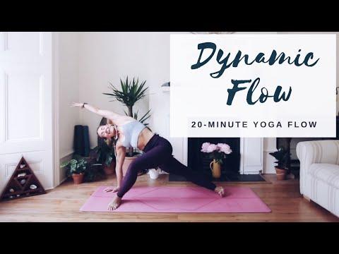 Ad Dynamic Yoga All Levels Fluid Yoga Flow Cat Meffan Youtube