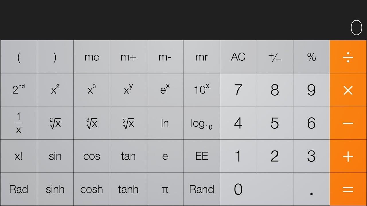Iphone Calculator Hidden Trick
