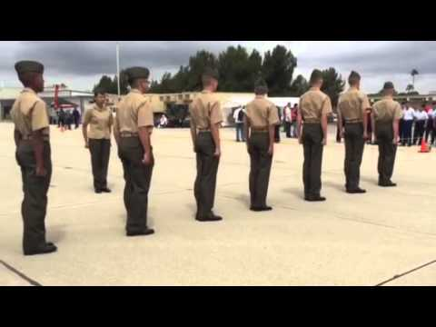 Unarmed #3 Drill Oceanside High School MCJROTC