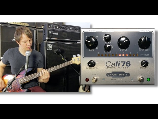 Origin Effects Cali76 Fender Jazz Bass Ampeg SVT Classic