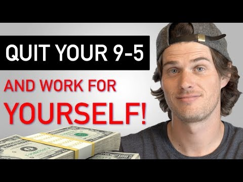 How I Quit My Job and Started Working for Myself (9-5 Escape Plan!)