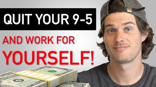 How I Quit My Jobs and Started Working for Myself (9-5 Escape Plan!)
