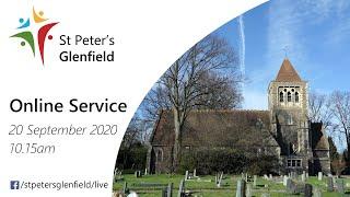 Online Service for St Peter's, Sunday 20 September 2020