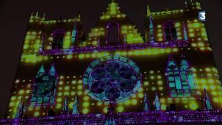 Fête des lumières 2017 - Unisson - Cathédrale Saint-Jean