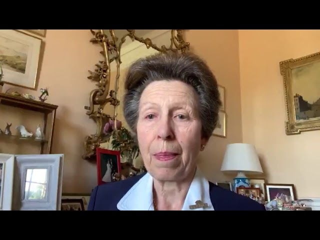 Princess Royal highlights 'vital' role of unpaid carers in video message recorded for Carers Week