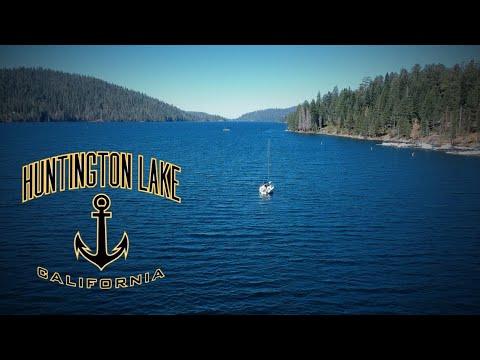 Huntington Lake California - Drone
