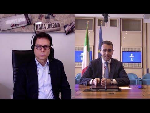 """Luigi Di Maio: """"Senza reddito di cittadinanza ci sarebbe state doppio delle persone in difficoltà"""""""