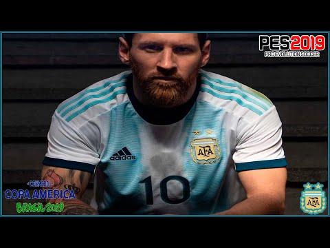 PES 2019 New Kit Seleccion Argentina Copa America 2019