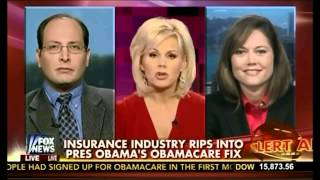 Canceled Health Insurance and Obamacare - Laura Adams on FOX News