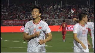 Chung kết SEA Games: Bàn thắng và những khoảnh khắc tuyệt vời trong đêm chiến thắng của U22 Việt Nam