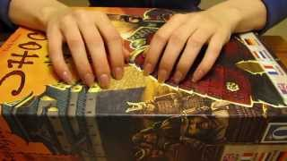 #81 *stereo* Tapping, Scratching, Crinkling And Playing With Wooden Board Game Pieces *asmr*