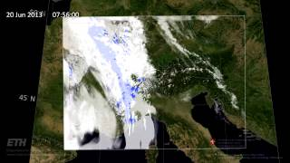 High resolution regional weather model, Oliver Fuhrer (MeteoSwiss) screenshot 1