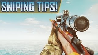 Battlefield 4: How To Snipe! Recon Sniper & Accuracy Tips And Tricks (BF4 Gameplay Tutorial Guide)