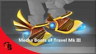 Dota 2: Store - Tinker Immortal - Mecha Boots of Travel Mk III