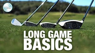 Beginner Golf - Long Game Basics | Me And My Golf