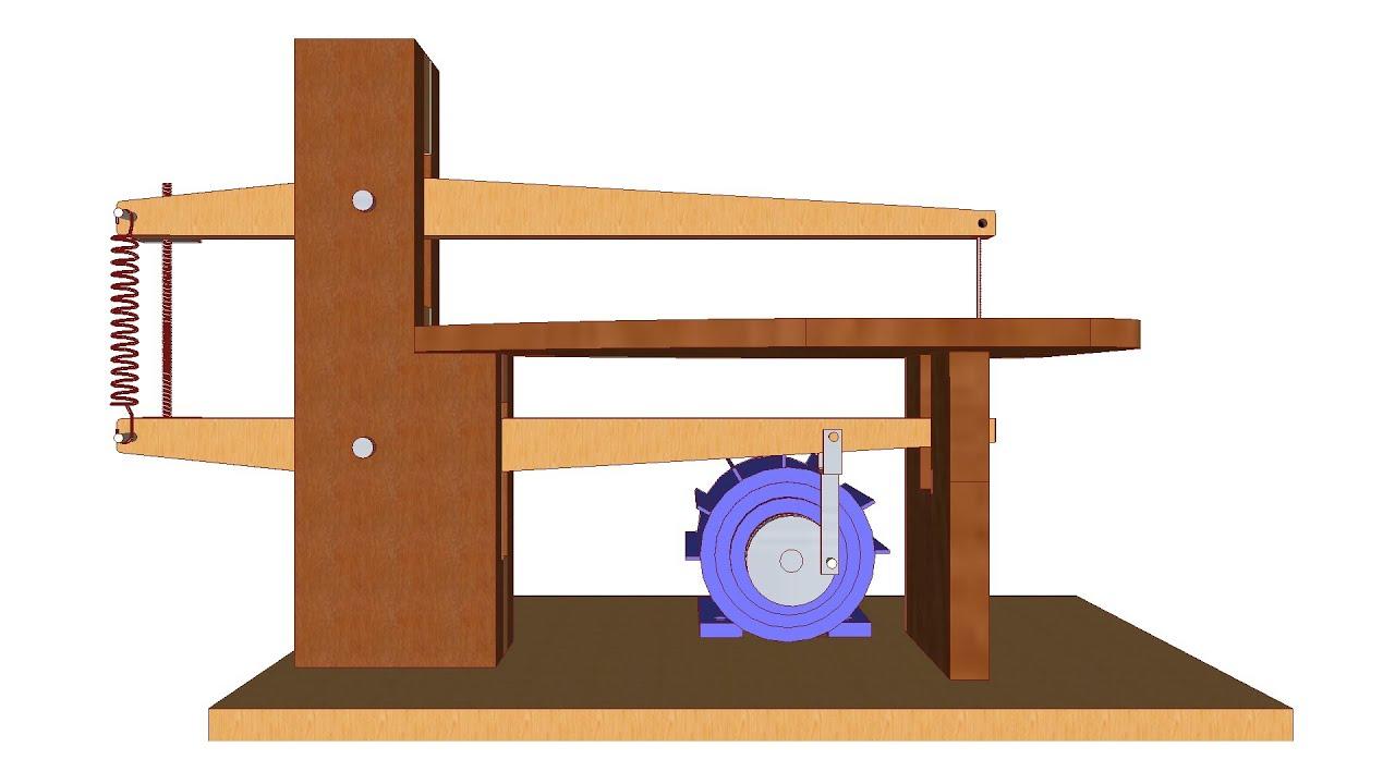 sierra casera para calar madera planos y medidas youtube