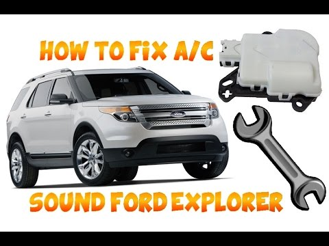 2011 2017 FORD EXPLORER AC DOOR CLICKING FIX