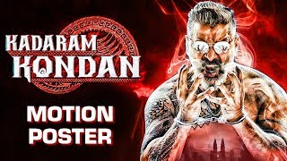 KADARAM KONDAN | Official Motion Poster Reaction | Kamal Haasan | Chiyaan Vikram