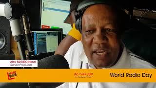 World Radio Day with Mduduzi Iron Ntiwane