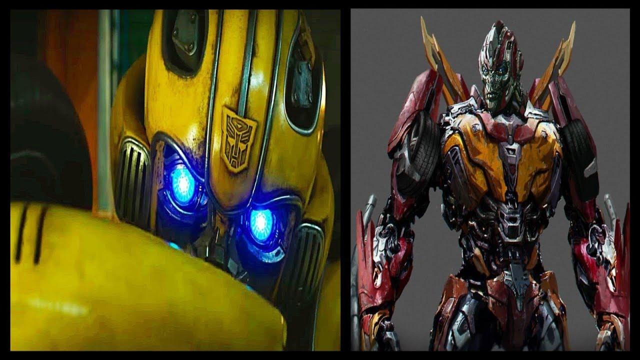 Bumblebee Movie Trailer Breakdown Robot Cast Bees Origins