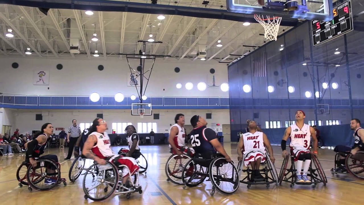 Download Miami vs Tampa Rivalry - Bonus Footage from The Rebound (Wheelchair Basketball Documentary)