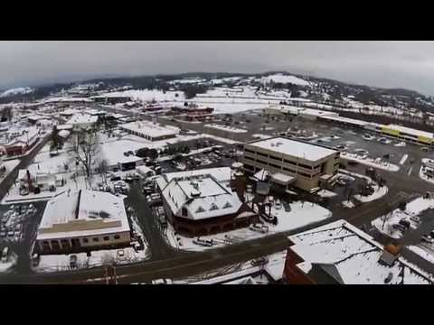 AERIAL FOOTAGE OF SEVIERVILLE TN 2015