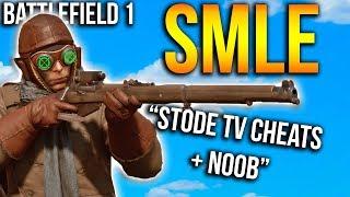 """""""Stode TV cheats + noob"""" Battlefield 1 SMLE Gameplay"""