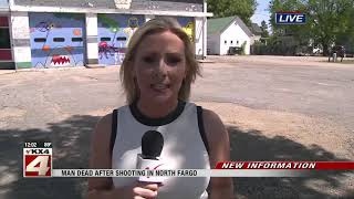 Live shot: Fatal downtown shooting, witness interview