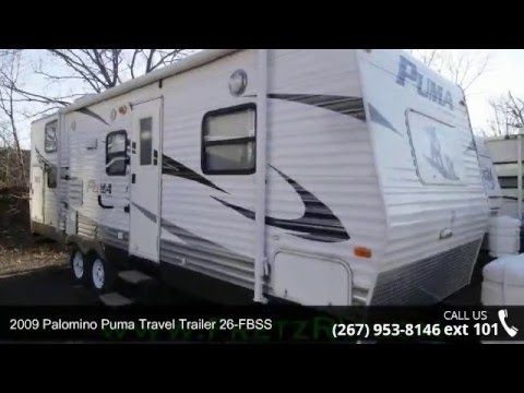 Used Campers For Sale In Pa >> Used 2009 Palomino Puma Travel Trailer 26-FBSS for Sale Fretz RV Classified Ads Camper Trader ...