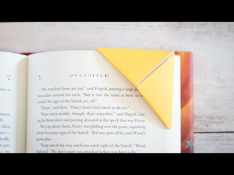 How To Make Corner Bookmarks! (Two Ways)