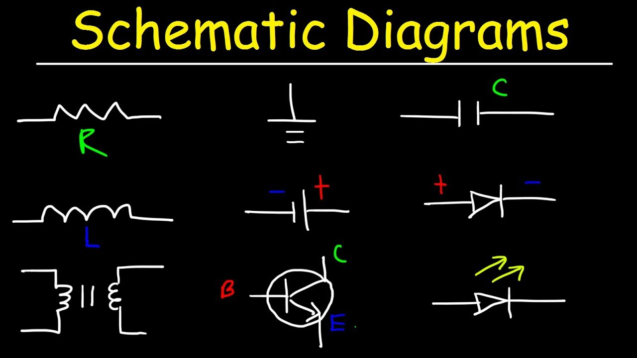Schematic Diagrams & Symbols, Electrical Circuits - Resistors ...