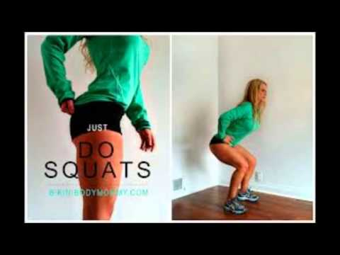 squats challenge before and after