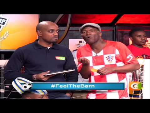 Captain Otoyo's shifty tactic of winning the World Cup #FeelTheBarn