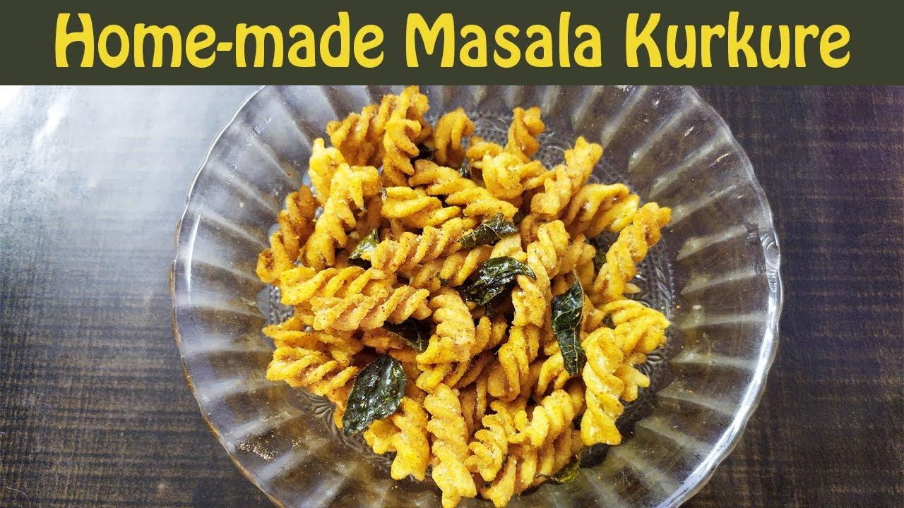 घर में रखे इन चीज़ों से तैयार करें Spicy Kurkure | Masala Kurkure Recipe at Home | Hunger Lounge
