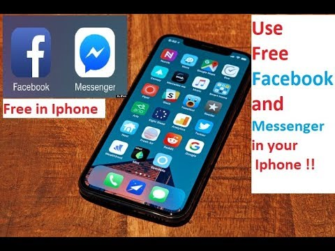 Free Facebook And Messenger In Your IPhone 2018, Exclusive In Youtube