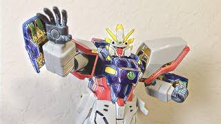 G Gundam 8in action figures Shining gundam review