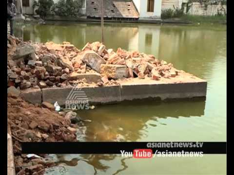Renovation  Pathmatheerthakkulam done by without permission Archaeology department