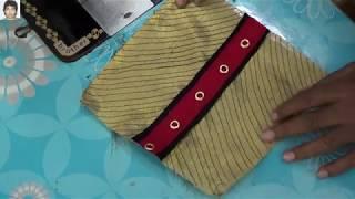 fashion designing secret technique embroidery design by loack machine | prasanta kar