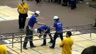 UAA civil engineering students host steel bridge-building competition