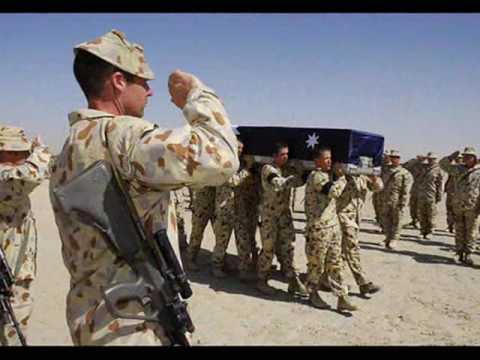 Australian Soldier -  Fallen Digger Tribute