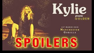 Kylie Minogue - Kylie Presents Golden LIVE at Gorilla Manchester - SPOILERS EDITION