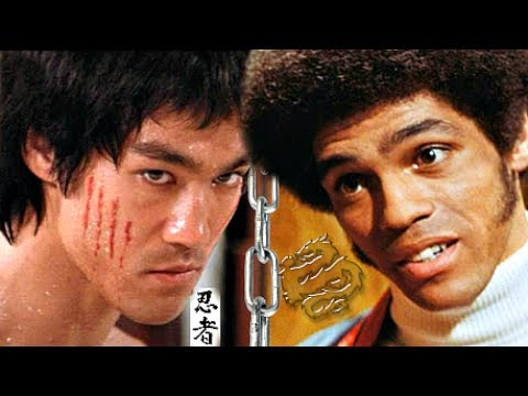 Jim Kelly VS BRUCE LEE? ☯- Kung Fu Karate, Jeet Kune Do: Compared in Enter Dragon SIMILAR FIGHTING
