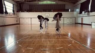 UniCircle Flow : Feeling Good (Trio) 一輪車演技 Unicycle Dance