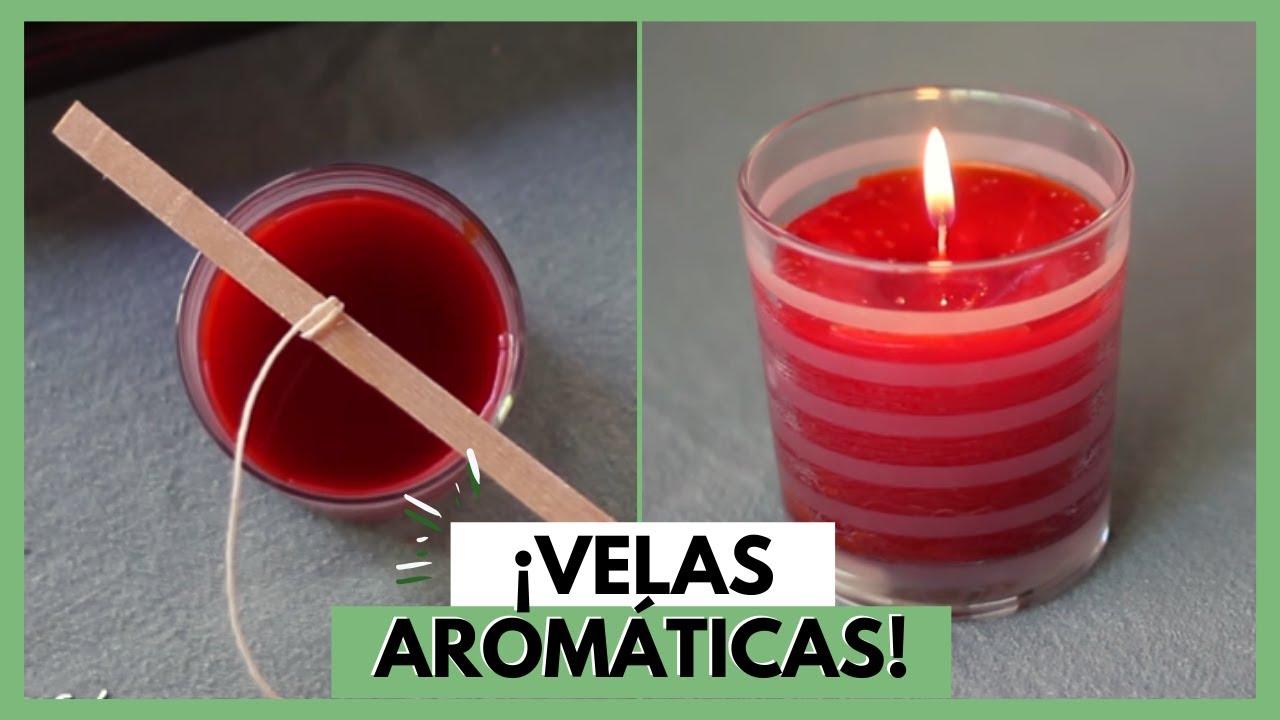 Como Hacer Velas Aromaticas Diy Vix Youtube - Hacer-velas